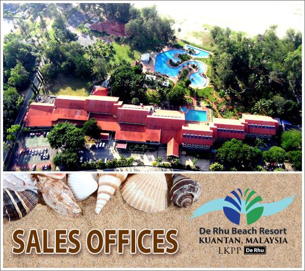 De Rhu Beach Resort - Sale Office Kuala Lumpur