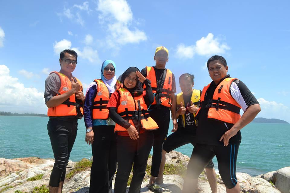 At Rock island