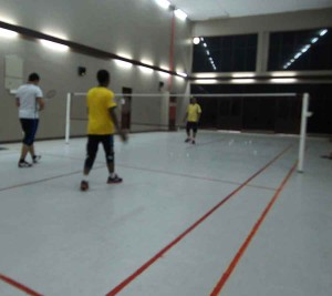 De Rhu Beach Resort - Badminton Court