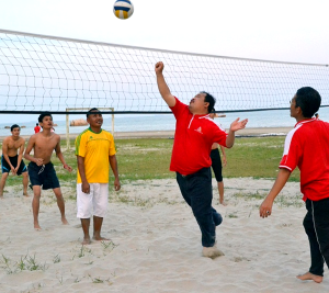 De Rhu Beach Resort - Beach Volley Ball
