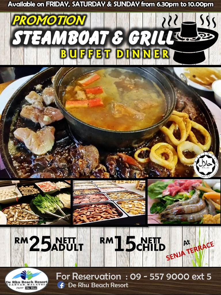STEAMBOAT & GRILL